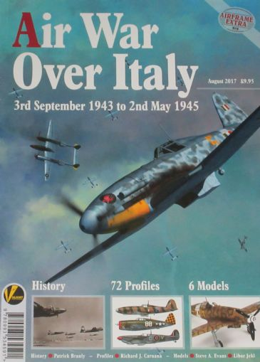 Air War over Italy, 3rd September 1943 to 2nd May 1945, Airframe Extra No.8